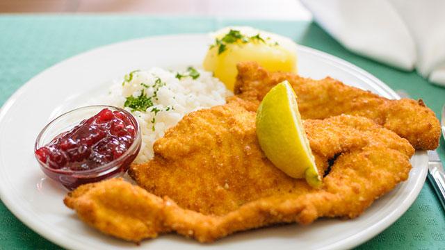 Klein Steiermark Essen und Trinken - Schnitzel